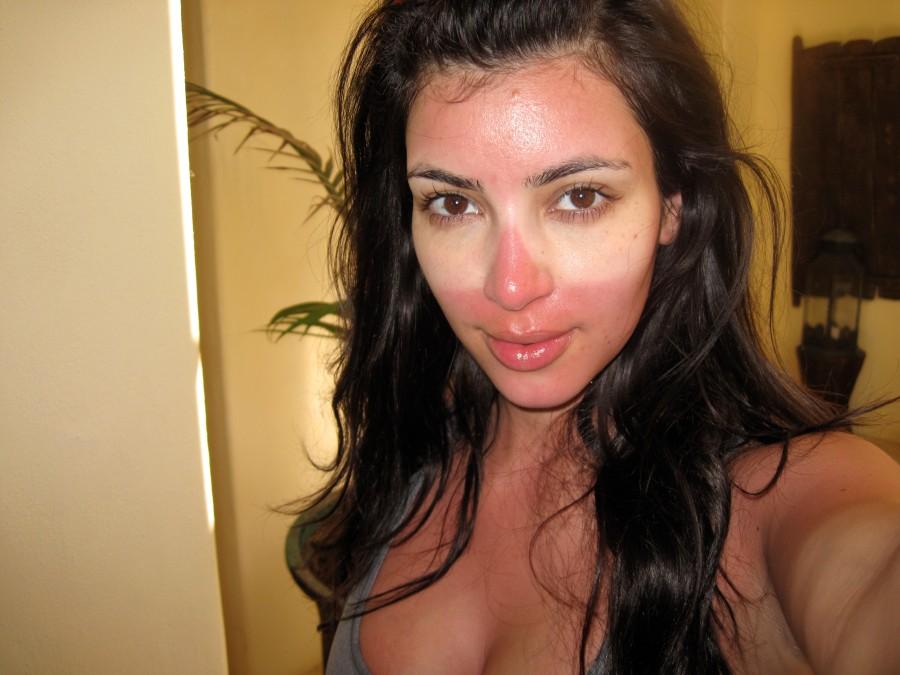 Kim Kardashian - the one time she DIDN'T roll over