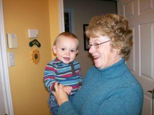 Mom & the Ankle Biter, 10/13/09