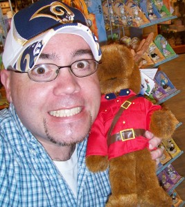 What...doesn't EVERYBODY own a stuffed moose wearing an RCMP uniform?