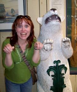 She's a bear....believe it. Heh.