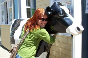 Well...what would YOU do with a cow statue??