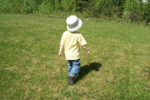 Man vs. Wild: toddler edition (05-31-09)