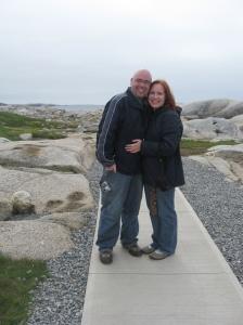 The happy couple: 05-24-09