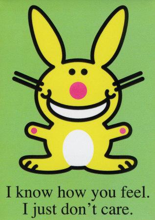 I don't Care Bunny