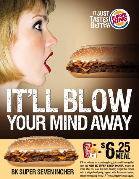 The BK 7-incher - the ad speaks for itself, doesn't it?
