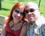 Sunshine on my shoulder makes me happy