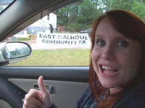 Sunshine is ALL about the East Dalhousie Community Fair