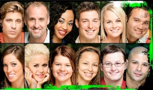 The cast of Big Brother 11