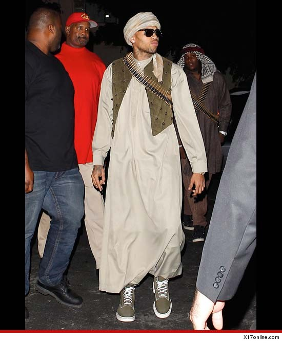 Chris Brown the terrorist
