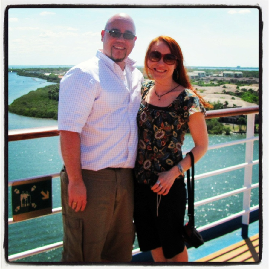 03-18-12 -- Taken from the Lido Deck of the Carnival Legend as we were ready to leave Tampa, Florida.