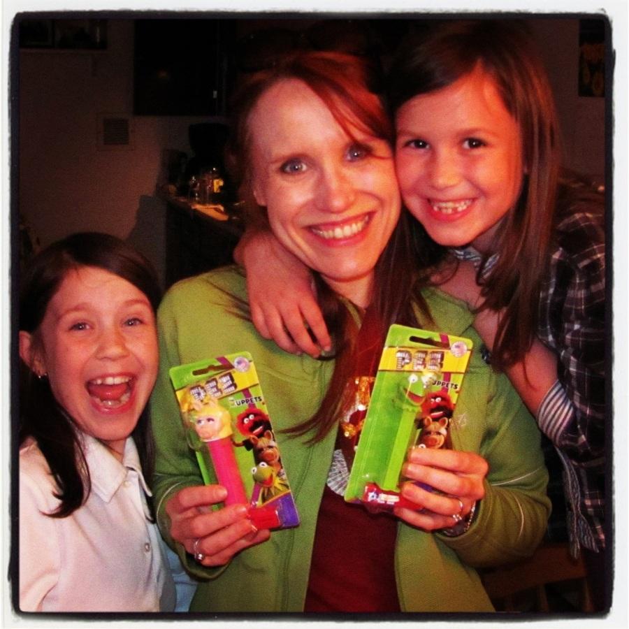 05-14-12 -- This was Sunshine's birthday! Her girls got her some Muppet Pez.