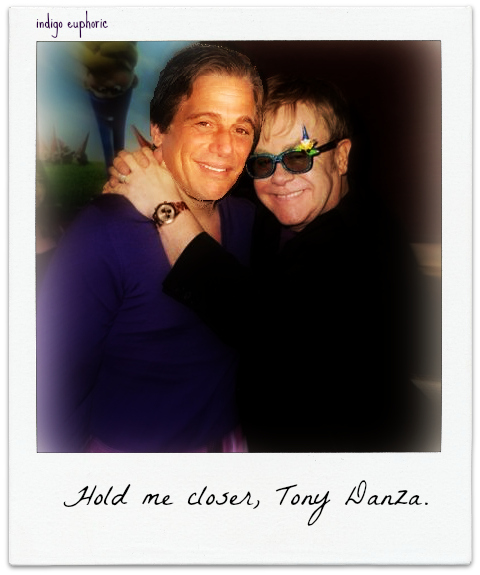 Hold me closer, Tony Danza