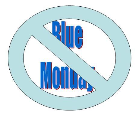 NoBlueMonday