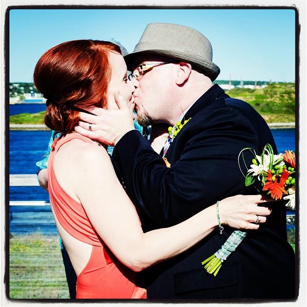 The kiss!!