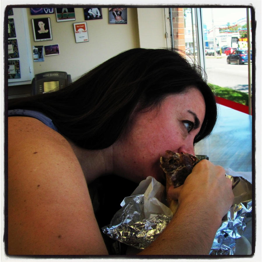 T loves donair!