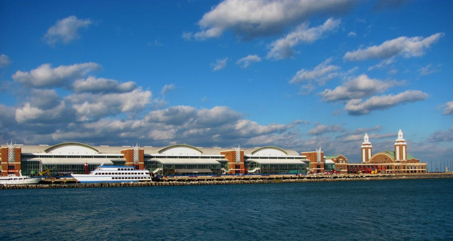 The Navy Pier wharf