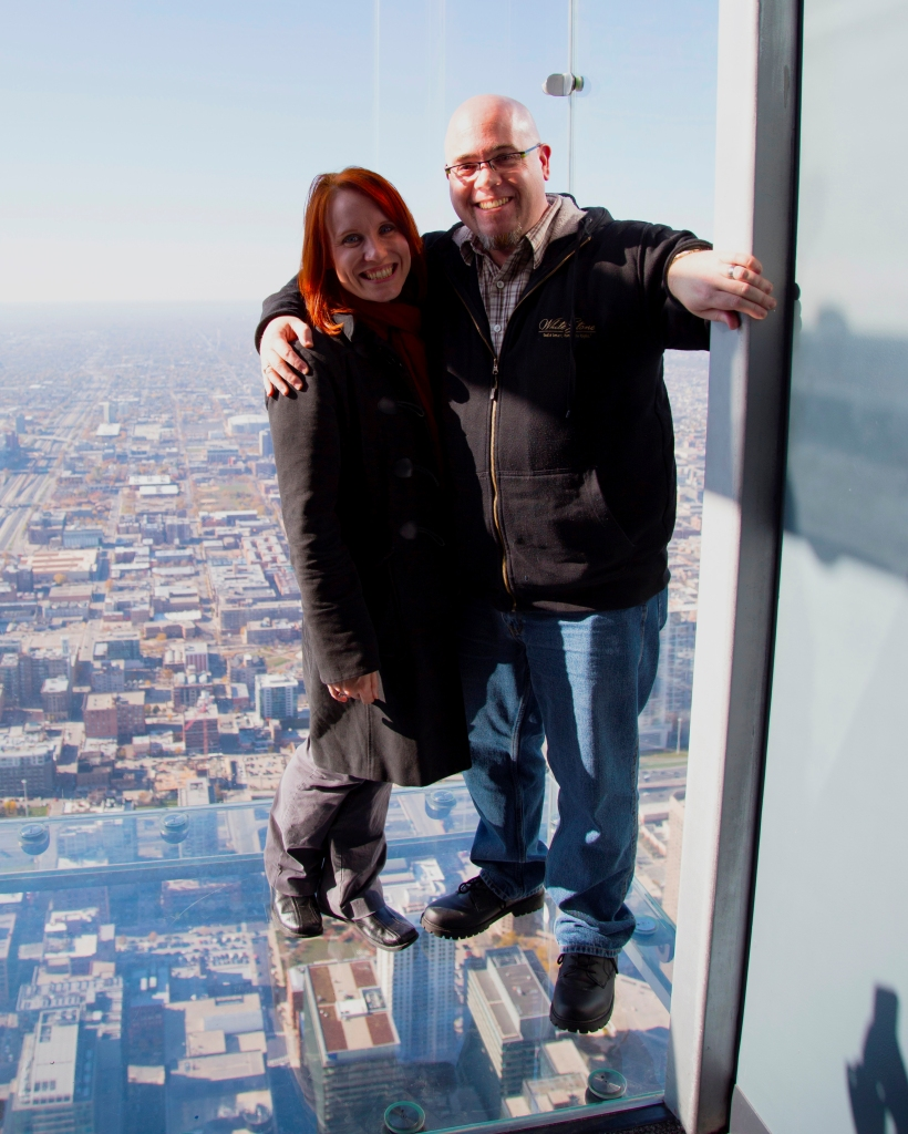 All smiles at Willis Tower