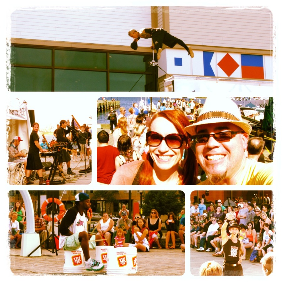 One of the best parts of spending summers in Halifax, Nova Scotia: the Halifax International Buskers Festival!!