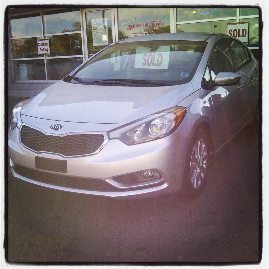 September 2013 -- my new car!