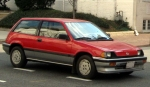 85 Honda Civic Hatchback