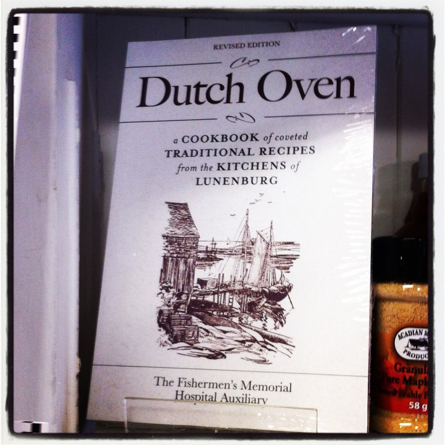 "We walked into a souvenir shop on the waterfront and found this cookbook. Sorry, but I refuse to eat anything that comes from a ""Dutch Oven"". Nope!"