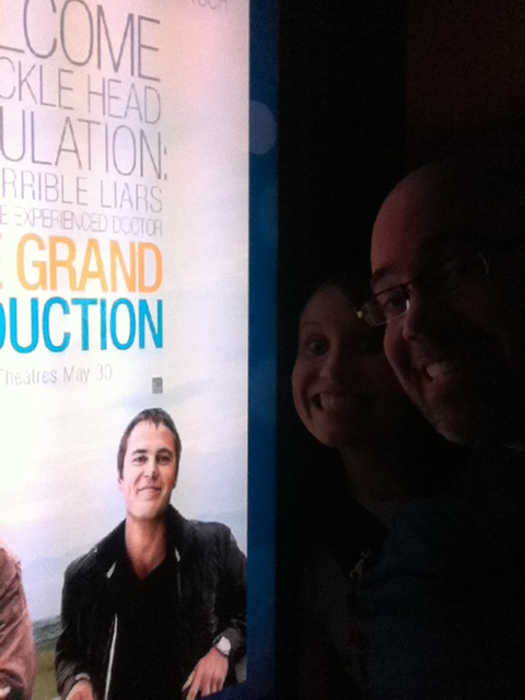 We decided to catch a Canadian-made movie as an afternoon matinee: The Grand Seduction. This was such a good movie, when it was done and the lights were on we didn't see a single person walk out WITHOUT a smile on their faces. You gotta love a movie like that.