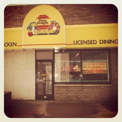 My dad's first restaurant