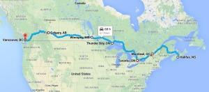 Drive Across Canada
