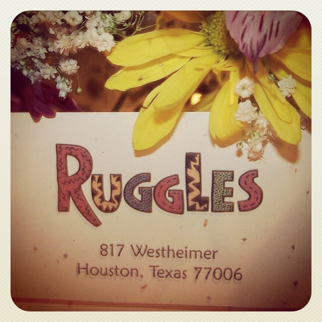 Ruggles - Houston