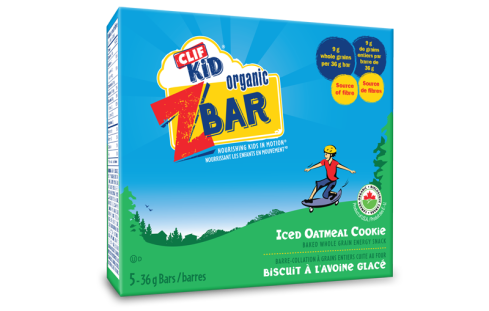 Clif iced oatmeal bar