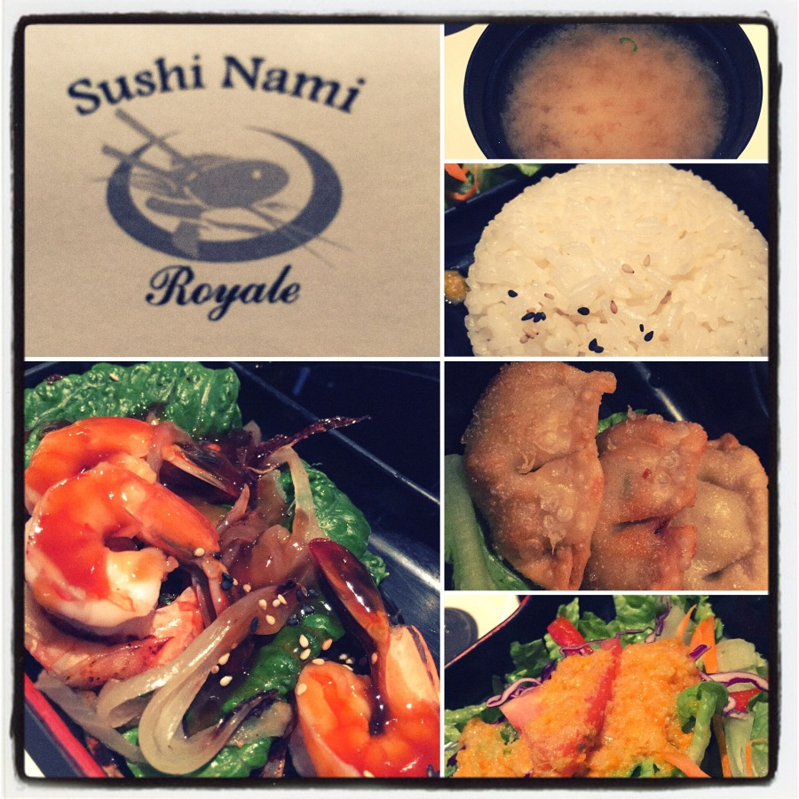 Had a really great business meal at Sushi Name Royal in Halifax.