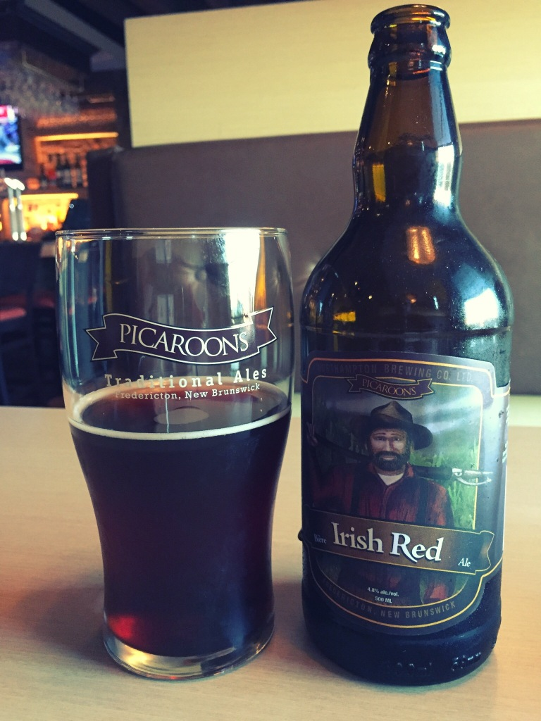 I asked my server for a local red and was given Picaroons, which is made in nearby Fredericton, New Brunswick. It was okay...a little too dark of a red for my personal tastes. Still...I'm all about supporting local.
