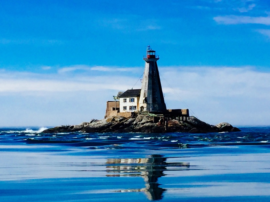 "This incredible photograph (if I do say so myself) is of <a href=""http://www.historicplaces.ca/en/rep-reg/place-lieu.aspx?id=4738"" target=""_blank"">Gannet Rock</a>. This lighthouse was built back in 1831 and was deemed a national historic property in 1991."