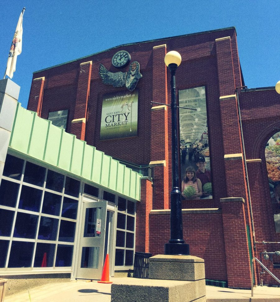 After a couple of nights in this historic city, I was ready to head back home...but not before going to the best location in the entire city: The Saint John City Market!